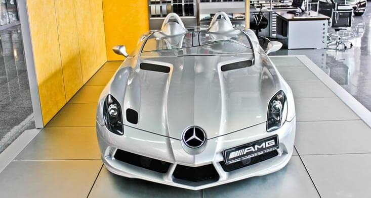 Mercedes Benz SLR Stirling Moss sell car in Sharjah