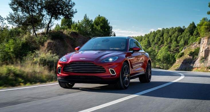 Aston Martin DBX: First ever Aston Martin SUV unveiled!