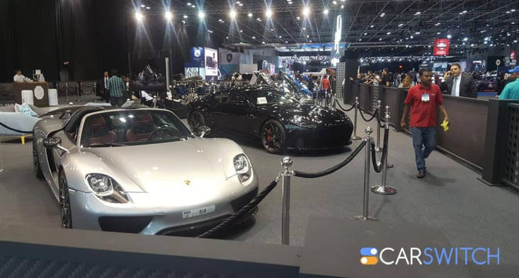 Carswitch.Com's Rendezvous at the 2019 Dubai International Motor Show!
