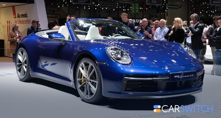 Porsche Carrera S and 4S car for sale will come with a Manual Transmission!