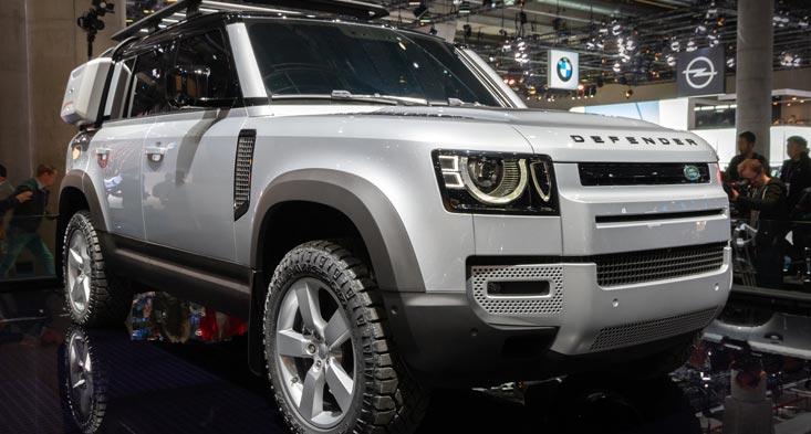 2020 Land Rover Defender new cars for sale in Dubai