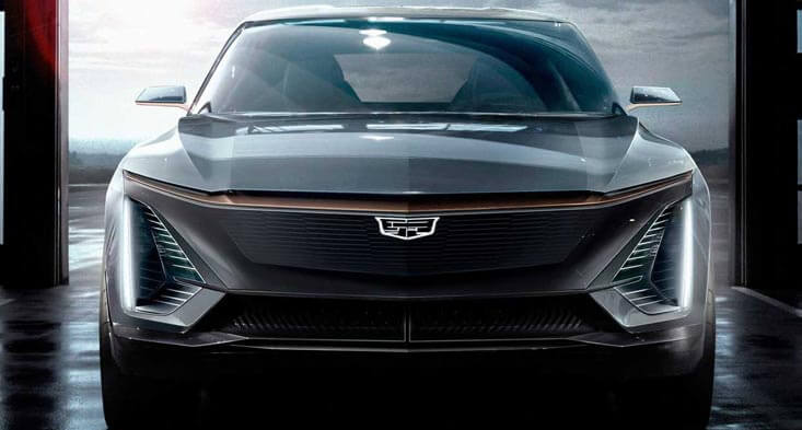 Cadillac's new EV upcoming cars for sale in Dubai