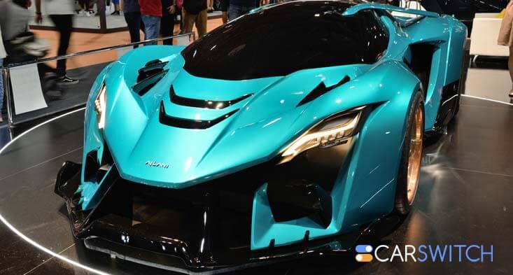 Ajlani Drakuma, a twin-turbo hypercar, revealed at the Dubai Motor Show 2019