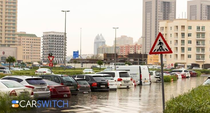How to spot a flood damaged used car in Abu Dhabi!