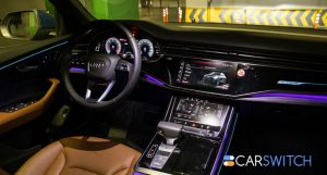 Screens and Augmented Reality Is the Future of Audi's Interiors!