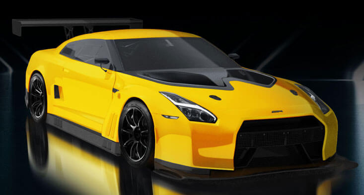 The Limited Edition Nissan GT-R Road Legal Car