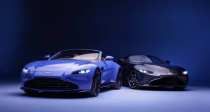 2021 Aston Martin Vantage Roadster Debuts With the Fastest Convertible Roof!
