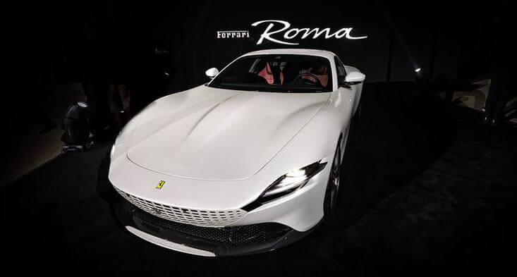 Ferrari Roma arrives in the UAE!