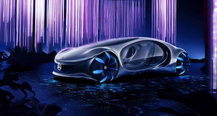 Mercedes-Benz AVTR Is One Cool Futuristic Concept
