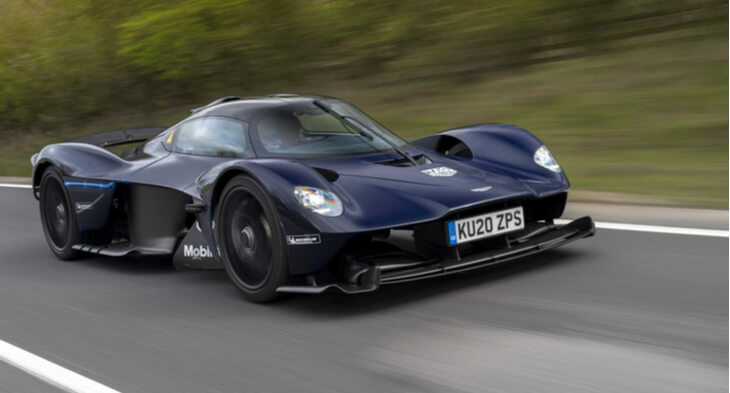 Revealed! Aston Martin Valkyrie Is Being Tested on Public Roads!