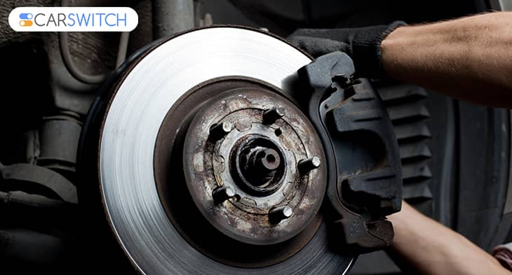 replace brake pads lexus uae