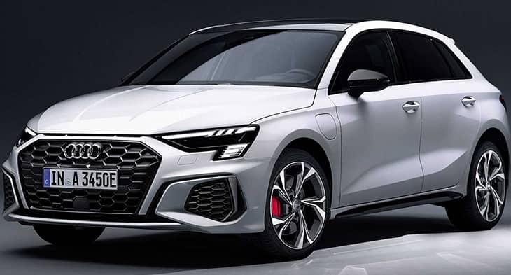 2021 Audi A3 Sportback 45 TFSI e with electric power