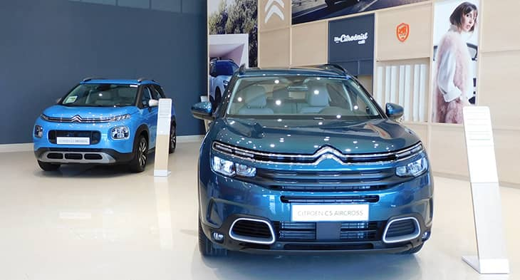 Al Rostamani Trading Company opens New Citroën showroom in UAE