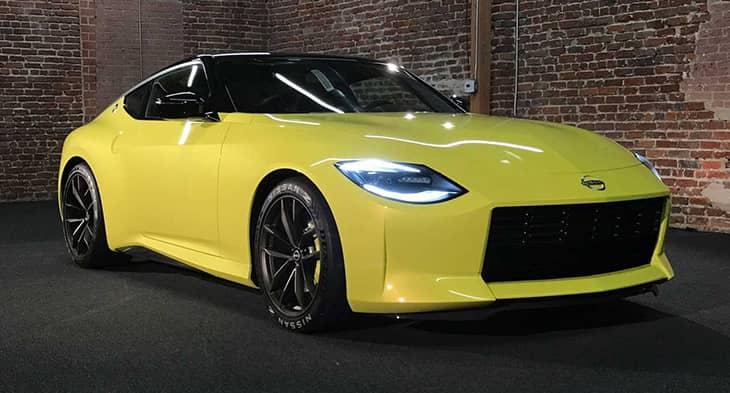 Sneak peek to the brand new 2022 Nissan 400Z